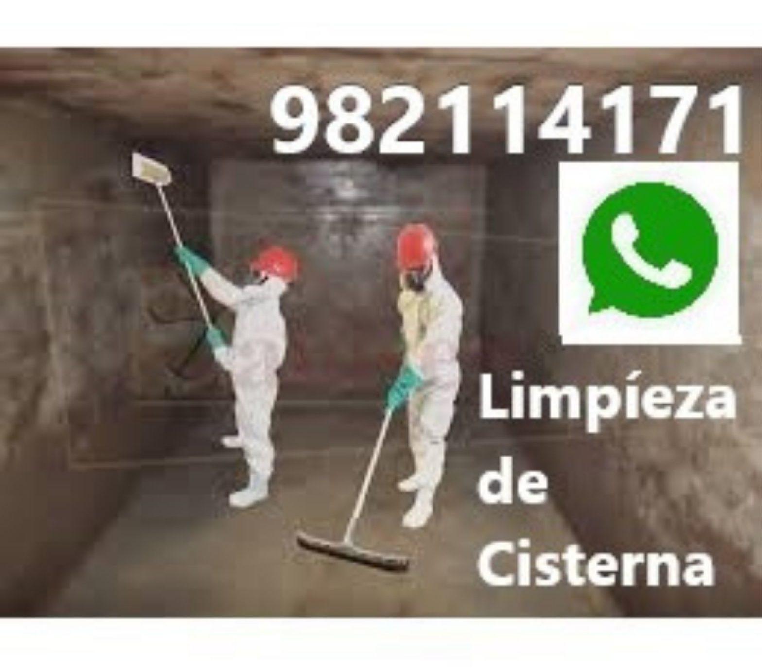 Limpieza de Cisterna con Agua en Barranco, Chorrillos, Surco